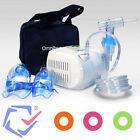 Omnibus Inhalator Aerosol Therapie Inhalation Kompressor 4 Farben Inhaliergerät