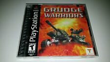 Grudge Warriors PlayStation PS1 PS2 PS3 Black Label New Factory Sealed