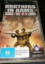 Brothers In Arms - D-Day (no booklet)  PSP - FREE POST