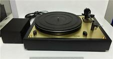 THORENS TD 147 JUBILEE - TURNTABLE - BLACK AND GOLD - RARE