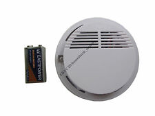 S06 315MHz Wireless Cordless Smoke Fire Sensor Detector for Home Alarm System
