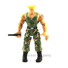 Promotion Toy JAZWARES STREET FIGHTER Green GUILE 4in.ACTION FIGURE GAME F108