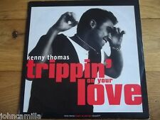 """KENNY THOMAS - TRIPPIN' ON YOUR LOVE 12"""" RECORD / VINYL - COOLTEMPO - 12COOL 277"""