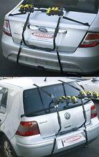 Pacific 3-Bike Rear Boot Mounted Car Rack Carrier with Velcro Straps P3BBR