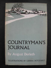 August Derleth – COUNTYRMAN'S JOURNAL (1963) – First Edition