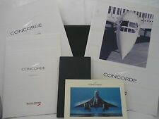 Genuine BA Concorde  Wallet containing exciting Memorabilia.  SEE  DETAILS BELOW