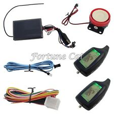Two Way Motorcycle Alarm System Motorbike 2 Way Alarm Long Distance Control