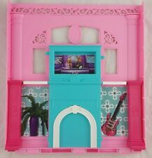 Barbie Dream House Replacement Parts 2013 - Living Room Fireplace Wall NEW