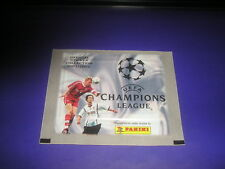 BUSTINA PACKET TUTEN ALBUM FIGURINE PANINI CHAMPIONS LEAGUE 2001-2002 NEW- MAX