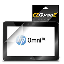 2X EZguardz LCD Screen Protector Skin Cover HD 2X For HP Omni 10 Tablet (Clear)