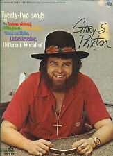 """GARY S PAXTON """" 22 SONGS FROM """" PIANO/CHORD /VOCALS MUSIC BK COLLECTORS ITEM"""