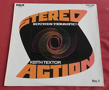 KEITH TEXTOR LP ORIG FR 1971 SOUNDS TERRIFIC  STEREO ACTION 1