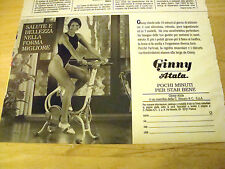 PUBBLICITA' ADVERTISING WERBUNG 1990 CYCLETTE GINNY ATALA (Q420)
