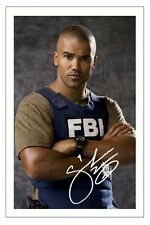 SHEMAR MOORE CRIMINAL MINDS SIGNED PHOTO PRINT AUTOGRAPH