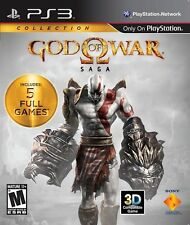 God of War Saga (Sony PlayStation 3, 2012) -- FREE SHIPPING!!