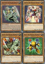 Yugioh Valkyrion the Magna Warrior + Alpha + Beta + Gamma Magnet Warrior Set Lot