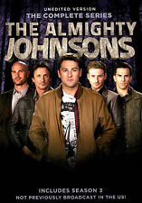 Almighty Johnsons: Seasons 1-3 New DVD! Ships Fast!