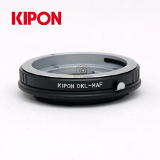 Kipon Adapter for Voigtlander DKL Mount CF Lens to Minolta AF/Sony Alpha  Camera