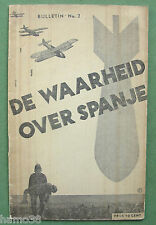 Peter ALMA 1936: De Waarheid over Spanje; Spanish Civil War, photomontage cover