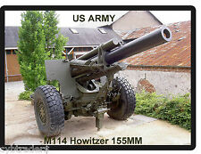 US Army M114 Howitzer 155MM  Tool Box /  Refrigerator Magnet