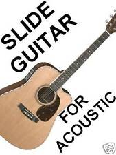 Acoustic Slide Guitar DVD VIDEO Lesson Do Not Detune! Standard Tuning Open Sound