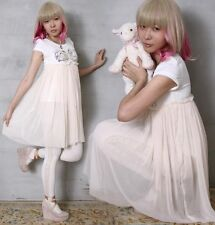 Japan Cutie Dream Flower Angel Wing Gyaru Earth Child Forrest Kei Ruched Tulle