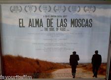 Cinema Poster: EL ALMA DE LAS MOSCAS THE SOUL OF FLIES 2012 (Quad) Feliz Cenzual