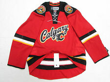 CALGARY FLAMES AUTHENTIC THIRD REEBOK EDGE 2.0 7287 HOCKEY JERSEY SIZE 60