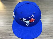 2016 New Era Toronto Blue Jays 59fifty 7 3/4 Cap Hat MLB Post Season On Field