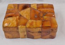 Originale Dose Bernsteinmanufaktur Königsberg Bernstein Amber Butterscotch 259 g