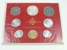 *** lire KMS VATICANO 1971 BU lira coin set Vaticano CORSO set di monete prima euro ***
