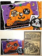 Monster Hunter AIROU Clear File Halloween A5 Sz CAPCOM Licensed New Cat Kitty