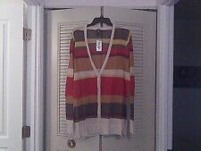 Doctor Who BBC Hot Topic Scarf Color Cardigan 2 2X
