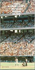 1984 Kansas City Royals Baseball MLB Media GUIDE
