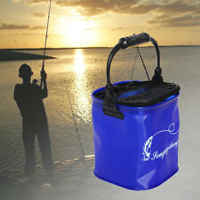 New 9L Outdoor Camping Fishing Folding Collapsible Bucket Barrel Water Container