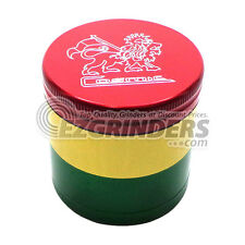 Rasta Grinder Cosmic Case - Medium 2.25 Inch 4 Piece - Lion of Judah - US Made