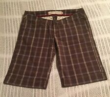 Hollister Size 1 Bermuda Shorts Low Waist Juniors