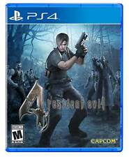 Resident Evil 4 PS4 Game BRAND NEW SEALED (English, Spanish, French, German)