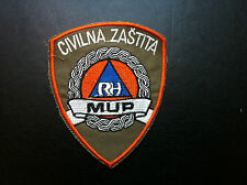 CIVIL PROTECTION PATCH - MUP RH - CROATIA POLICE MINISTRY OF INTERNAL AFFAIRS