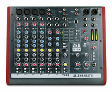 Allen and Heath ZED-10FX 10-Channel Mixer with USB & Effects -Authorized Dealer-