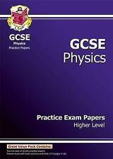GCSE Physics Practice Papers - Higher, CGP Books Paperback Book The Cheap Fast