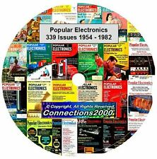 Popular Electronics Magazine 339 Issues 1954-1982 on DVD PDF eBook Free Shipping