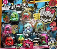*Monster High* 8 PACK MINIS SERIES 2- with 2 exclusive figures!!