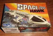 vintage 1977 MPC Space: 1999 Hawk Attack Spaceship model kit