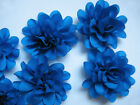 "10 Satin silky 2"" Flower-Royal Blue D007"