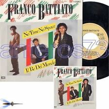 "FRANCO BATTIATO ""NO TIME NO SPACE"" RARO 45GIRI GERMANIA"