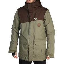 NEW Oakley JEDA Snow JACKET Men's Size M Worn Olive Waterproof $280