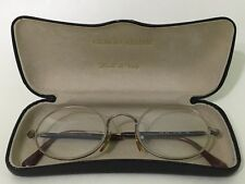 Vintage Giorgio Armani Eyeglasses, Glasses Frames w/ Case, Italy 47/20/140