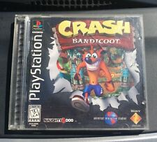 Crash Bandicoot PlayStation 1 RARE BLACK LABEL Ps1 Ps2 PS3
