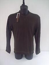 T-shirt Roberto Cavalli,colore verde inserti in cavallino,manica lunga,tg 52